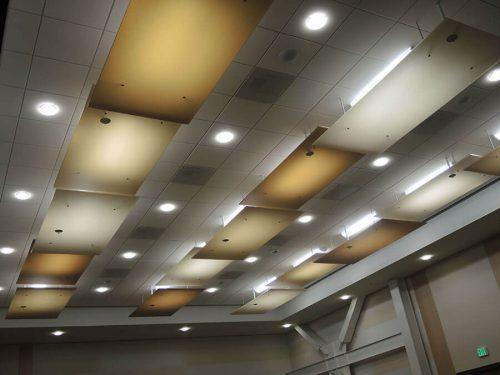 Paneles Acusticos Transparentes AIR-board CSUSM-AIR-Board-Ceiling-Panels