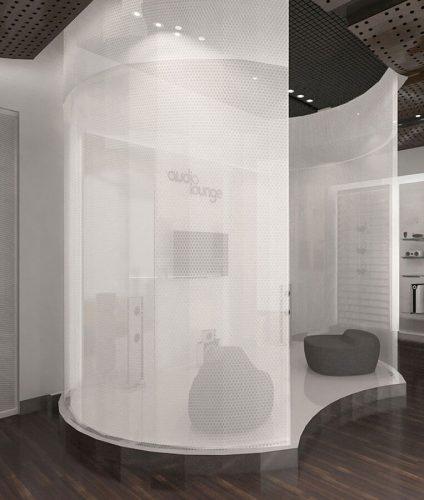 Paneles Acusticos Transparentes AIR-board audio-lounge-clear-PEP-transparent