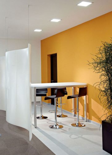 Paneles Acusticos Transparentes AIR-board partition-&-table---AIR-board-Makustik